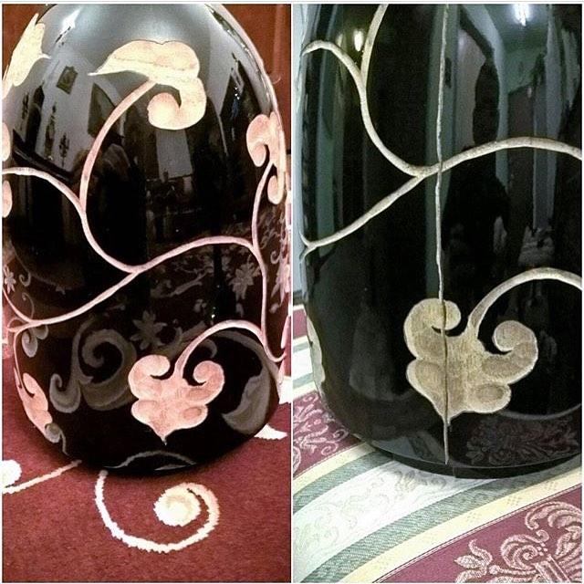 Реставрация вазы