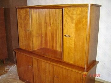 Мебель после реставрации нашим мастером