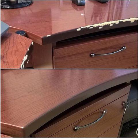 Реставрация кромки стола