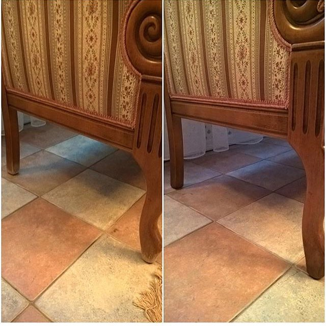 Реставрация ножек дивана