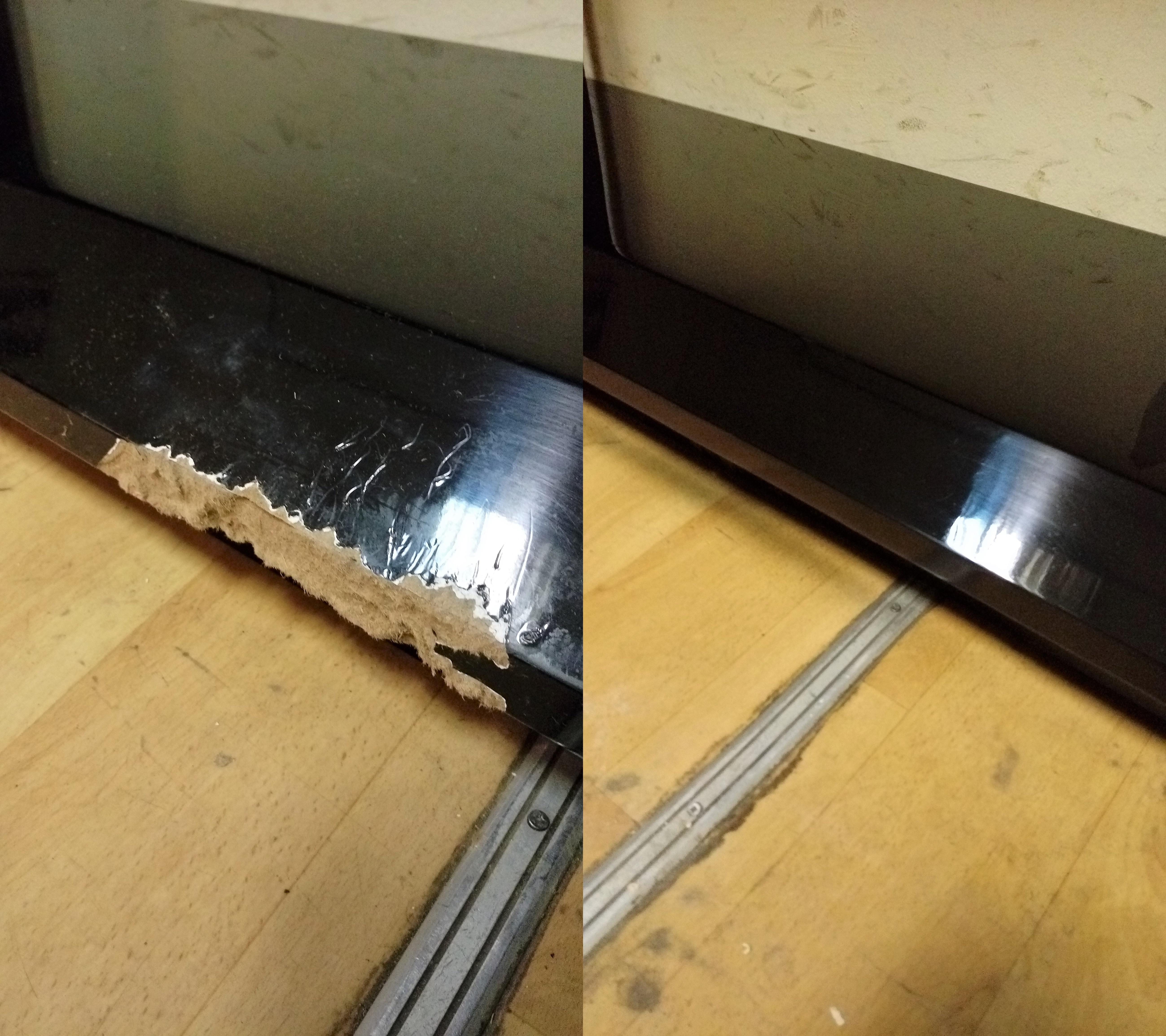 Реставрация подстолья стола