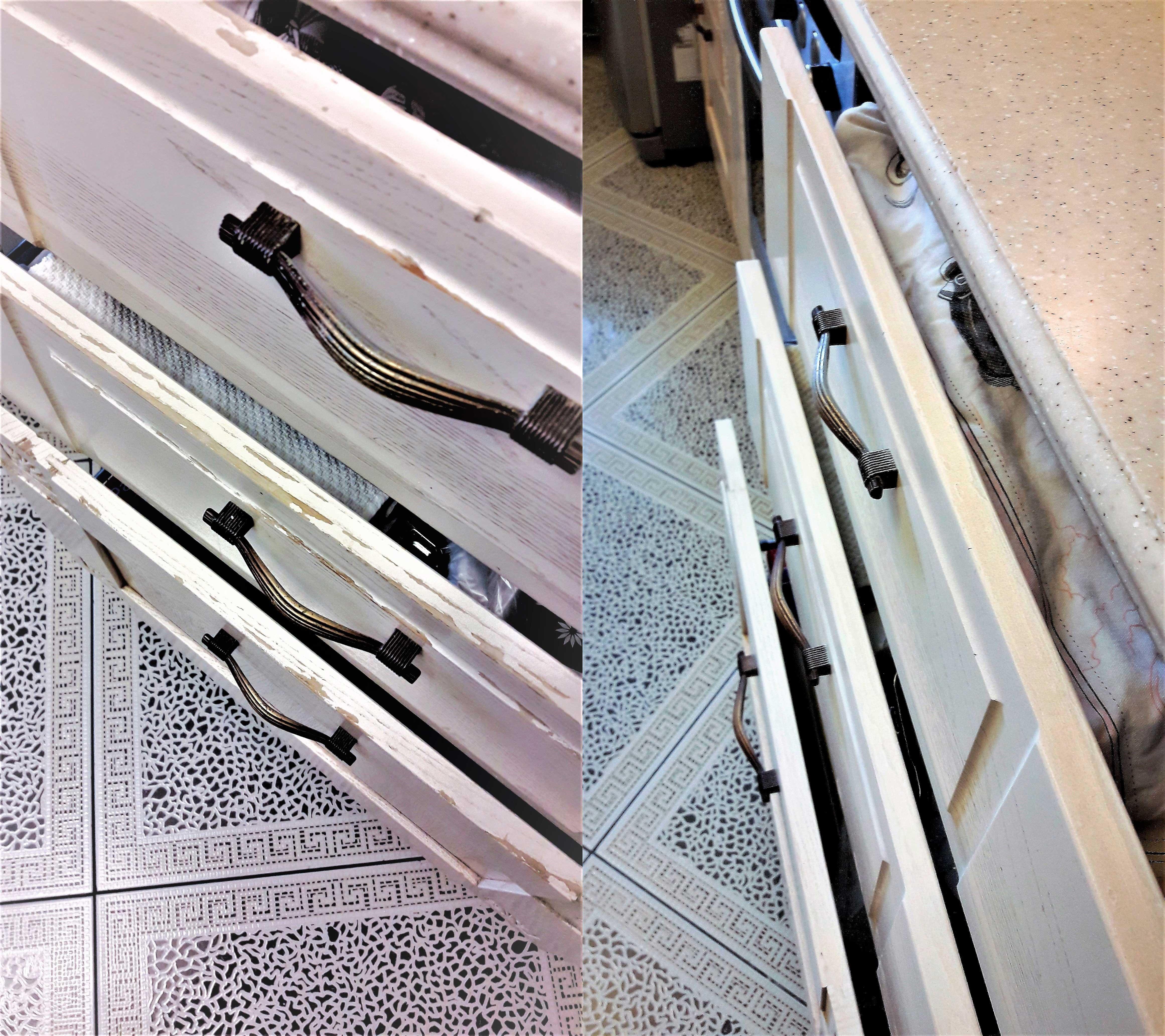 Реставрация кухонных ящиков