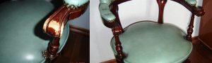 Реставрация угла кромки кухонной столешницы