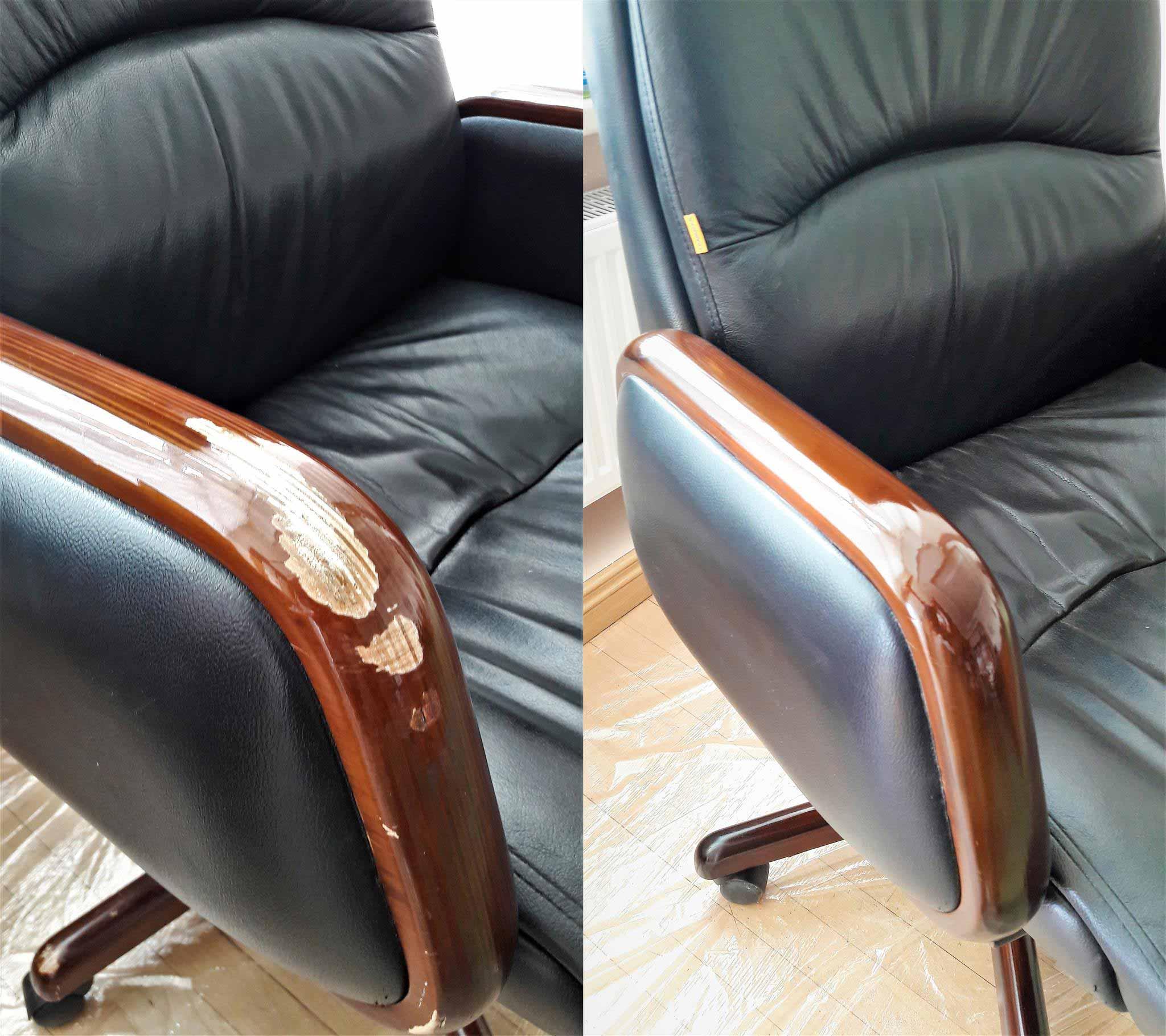 Реставрация офисного кресла