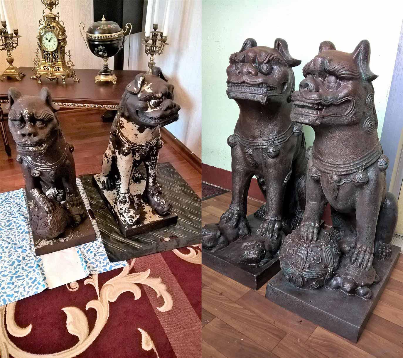 Реставрация декоративной скульптуры