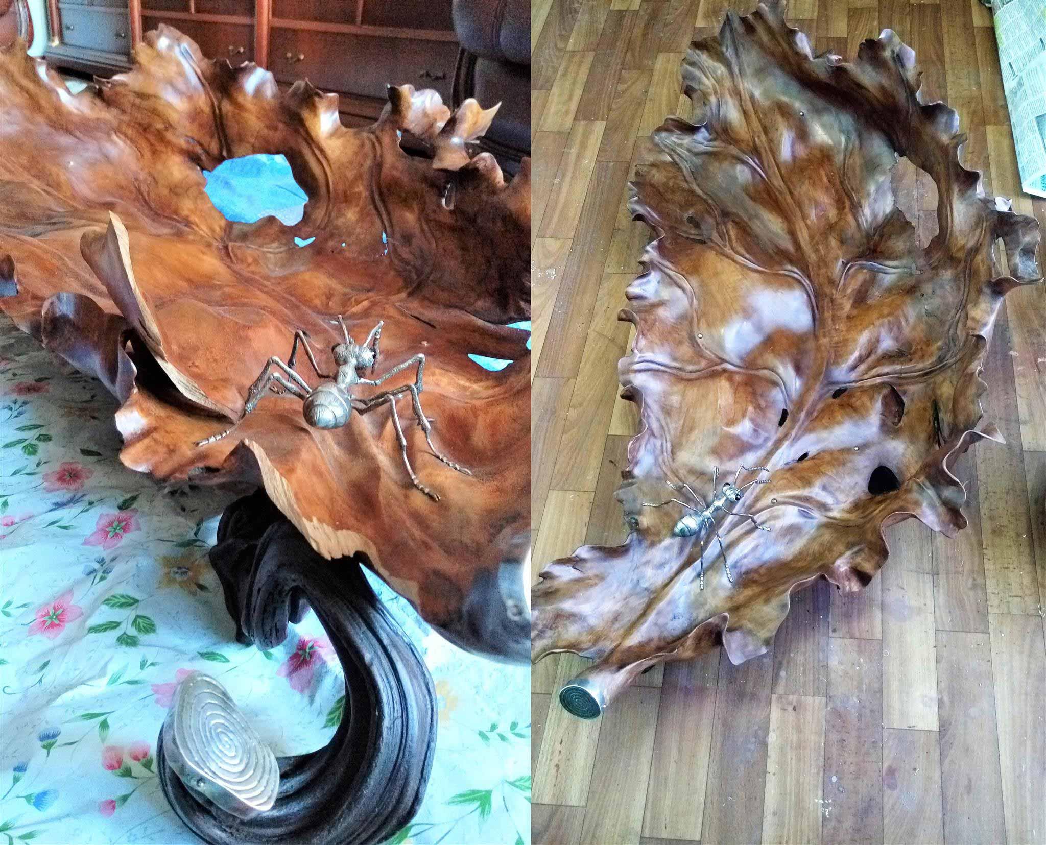 Реставрация деревянной скульптуры
