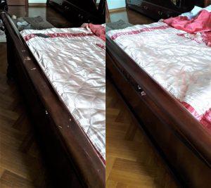 реставрация спинки кровати