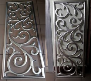 Реставрация декоративной панели