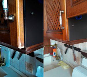 Реставрация кромки кухонного ящика
