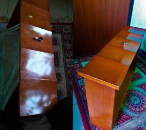 Реставрация ящика