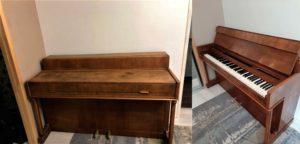 Эконом реставрация пианино