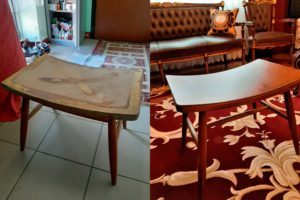Эконом реставрация столика