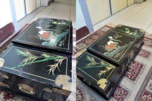 Реставрация китайской шкатулки