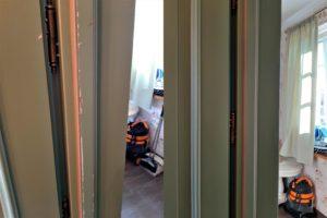 Реставрация косяка двери