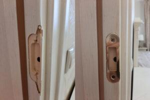 Реставрация личинки замка