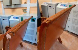 Наращивания фрагмента на мебели