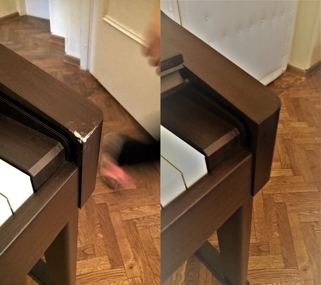 Реставрация пианино