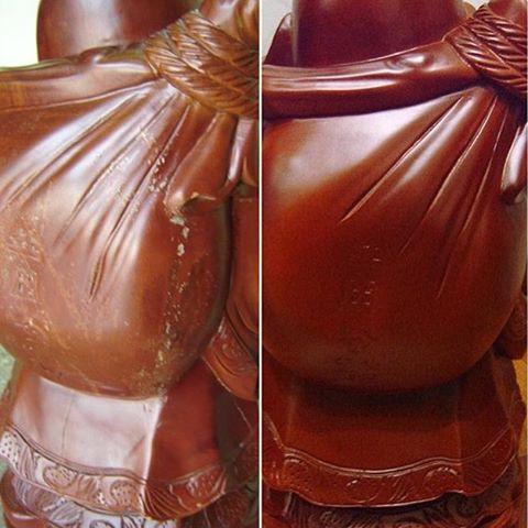 Реставрация Будды