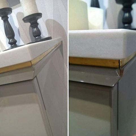 Реставрация угла стола