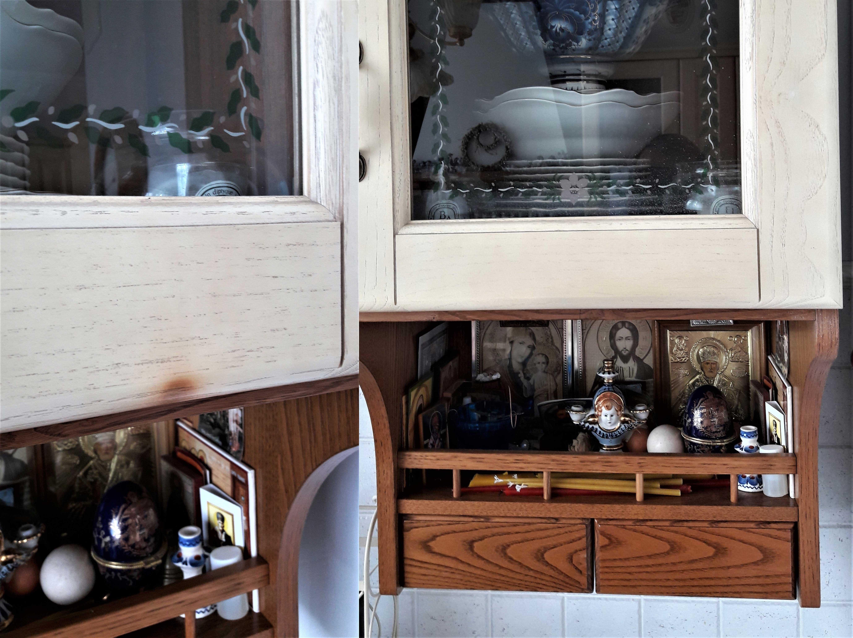 Реставрация кухонного фасада